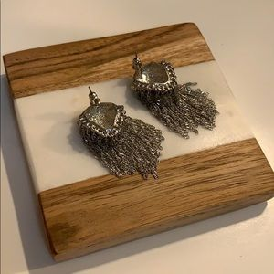 Jewelry - Leopard metal earrings